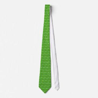 Binair (Groen) stropdas