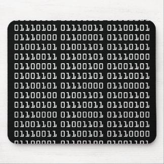 Binaire Code Mousepad Muismatten