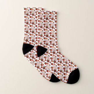 BINDI MI TANG - Voer - witte sokken