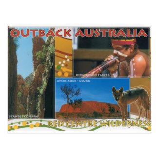 Binnenland Australië Briefkaart