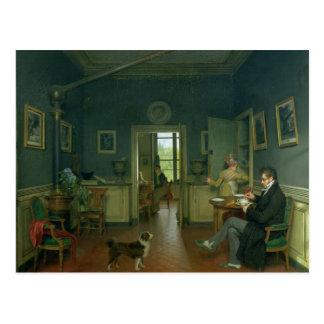 Binnenland van een Eetkamer, 1816 Briefkaart
