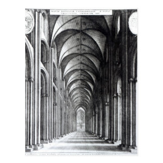 Binnenland van het Schip van St. Paul, 1658 Briefkaart