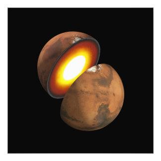Binnenland van RuimteNASA van Mars Foto Kunst