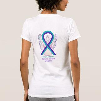 Binnenlands Geweld & het Seksuele Overhemd van de T Shirt
