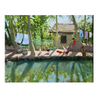 Binnenwateren India Briefkaart
