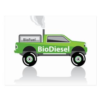 Bio diesel Pick-up Briefkaart