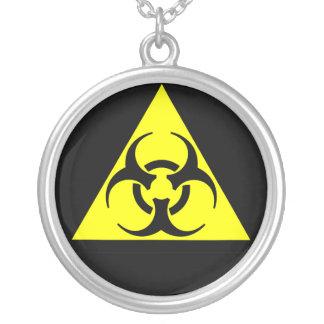 Biohazard Zilver Vergulden Ketting