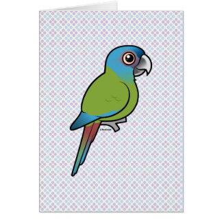 Birdorable blauw-Geleide Ara Briefkaarten 0