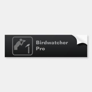 Birdwatcher Pro Bumpersticker
