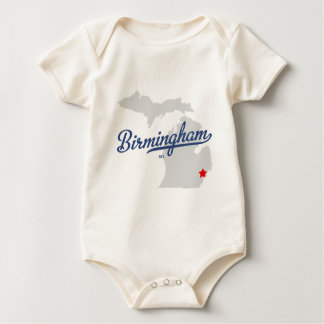 Birmingham Michigan MI Overhemd Baby Shirt