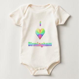 Birmingham -- Pastelkleuren Baby Shirt