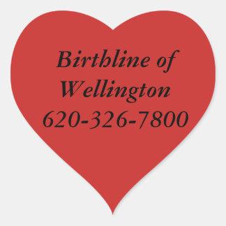 Birthline van de Stickers van Wellington
