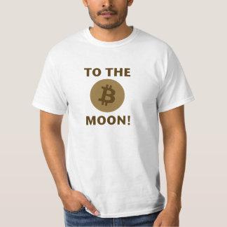 "Bitcoin ""aan de Maan!"" T-shirt"