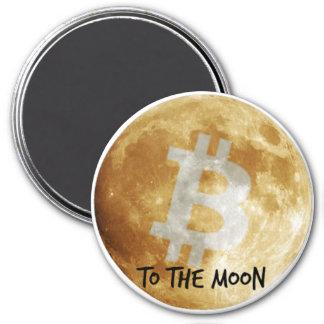 Bitcoin aan de Magneet van de Koelkast van de Maan