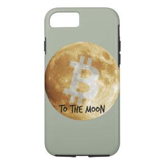Bitcoin aan iPhone 7 van de Maan Hoesje