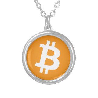 Bitcoin - Cryptocurrency Alliance Zilver Vergulden Ketting