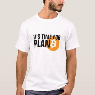 Bitcoin. Het is tijd voor PLAN B T Shirt