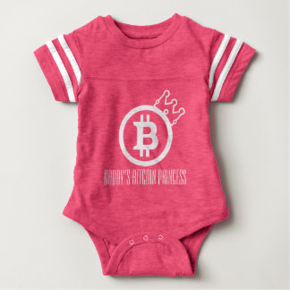 BITCOIN-papa het prinses-Onsie-Crypto van Bitcoin Romper
