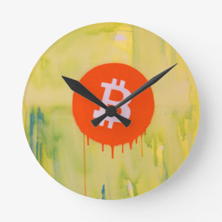Bitcoin Ronde Klok