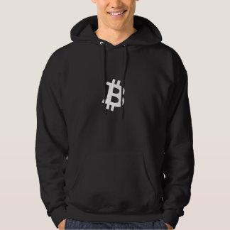 Bitcoin Witte B (Hoodie) Hoodie