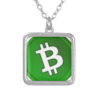 Bitcoin Zilver Vergulden Ketting