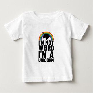 Bizarre Eenhoorn Baby T Shirts