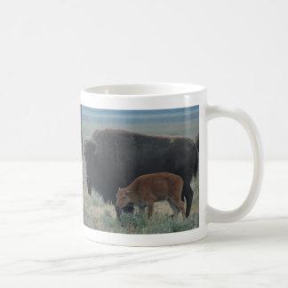 Bizon, Scène Yellowstone Koffiemok