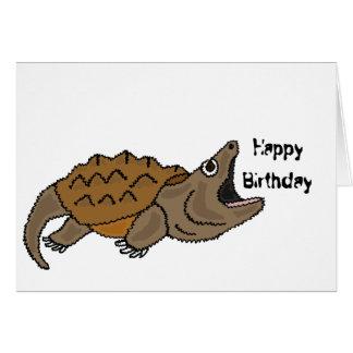 BJ de grappige Brekende Kaart van de Verjaardag