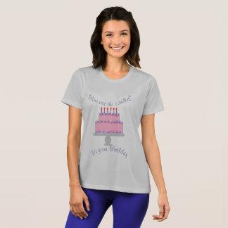 blaas uit de kaarsent-shirt t shirt