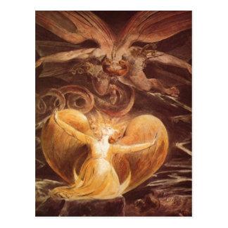 Blake, gro van William Der? e Rote Drache und Briefkaart