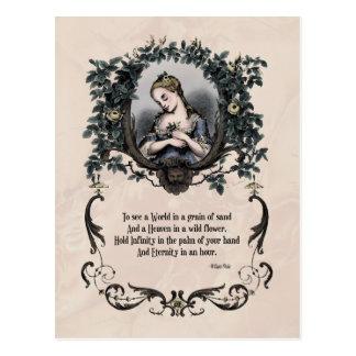 """Blake """"het Victoriaans Briefkaart om van een"""