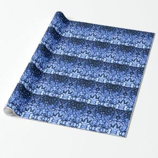 Blauw Agaat Inpakpapier