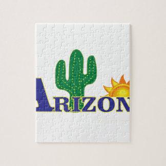 blauw Arizona Legpuzzel