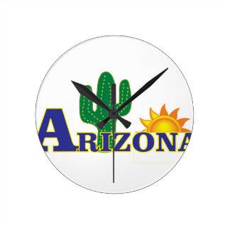 blauw Arizona Ronde Klok