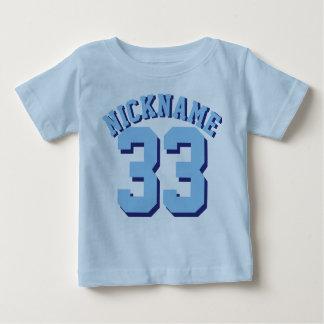 Blauw Baby | Ontwerp van Jersey van Sporten Baby T Shirts