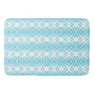 blauw badmat