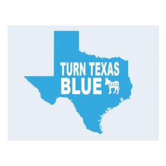 Blauw Briefkaart | van Texas van de draai de