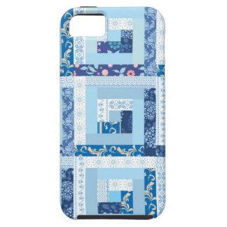 Blauw Dekbed Tough iPhone 5 Hoesje