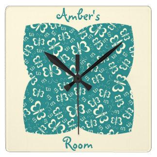 Slaapkamer klokken slaapkamer muur klokken - Slaapkamer blauw meisje ...