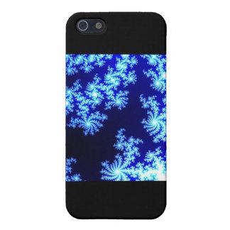 Blauw en Wit iPhone 5 Case