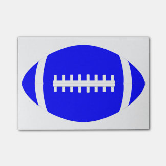 Blauw Football Post-it® Notes