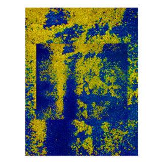 Blauw Goud Briefkaart