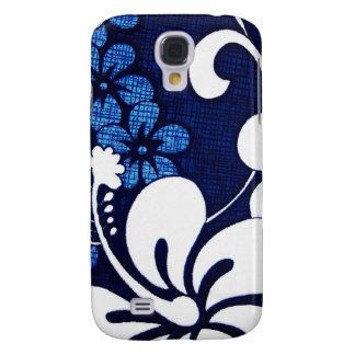Blauw Hawaiiaans iPhone3G Hoesje van de Hibiscus