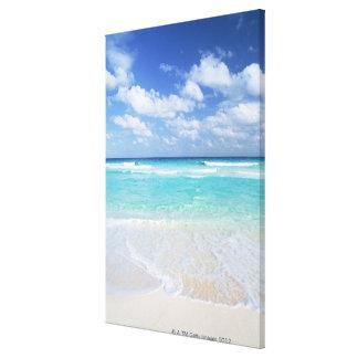 Blauw hemel en zee 15 canvas afdruk