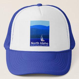 Blauw het Noord- van Idaho Trucker Pet