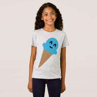 Blauw het roomijsoverhemd van Emoji T Shirt