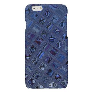Blauw Juweel iPhone 6 Hoesje Glanzend