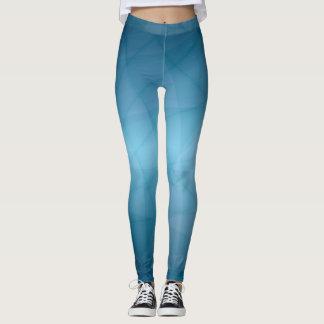 Blauw Leggings
