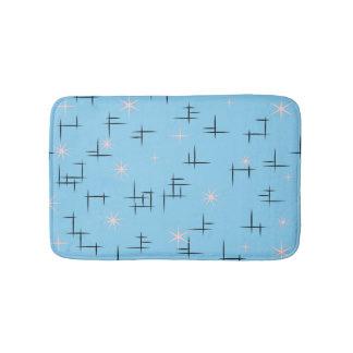 Blauw Modern Midden van de eeuw Badmatten