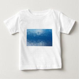 Blauw netwerk baby t shirts